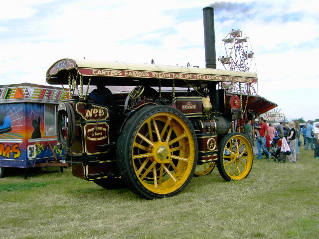 Showmans engine for West motor ford preston idaho